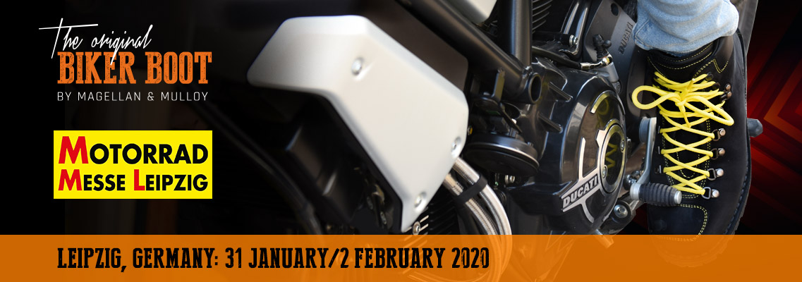 Motorrad Messe, Leipzig (DE), 31 january / 2 february 2020