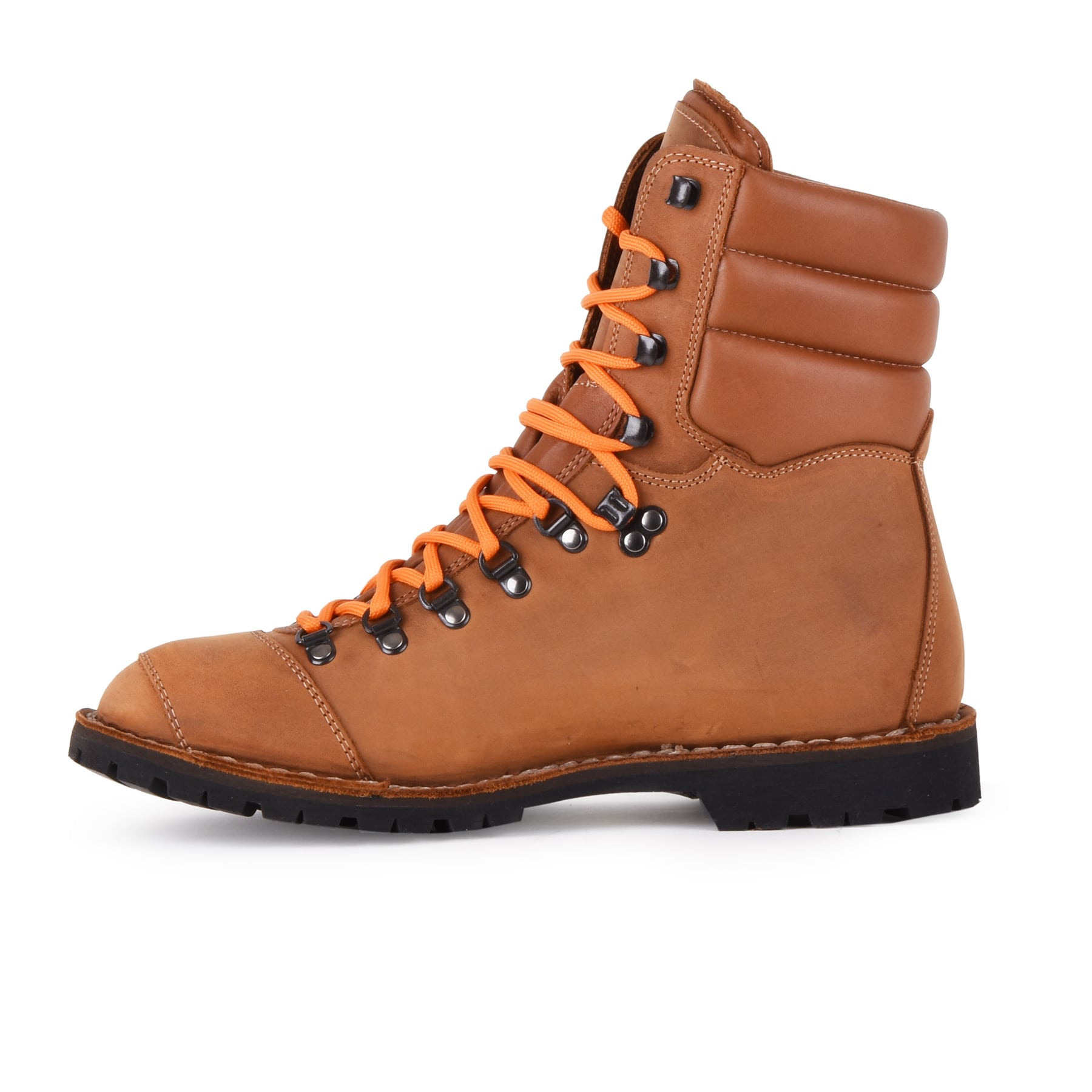 Biker Boot AdventureSE Denver Brandy, brandy heren boot, crème stiksel