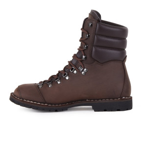 Biker Boot AdventureSE Denver Brown, donkerbruine heren boot, donkerbruin stiksel