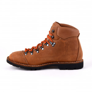 Biker Boot Adventure Denver Brandy, brandy heren boot, crème stiksel