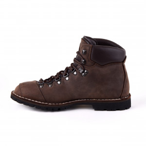 Biker Boot Adventure Denver Brown, donkerbruine dames boot, donkerbruin stiksel